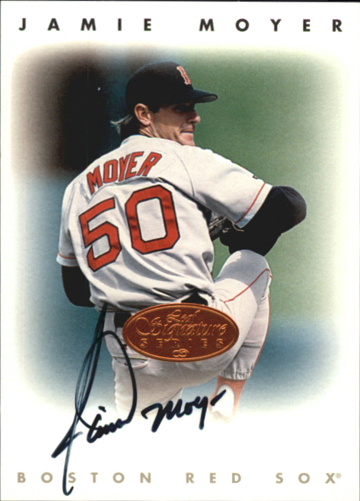 1996 Leaf Signature Autographs #164 Jamie Moyer