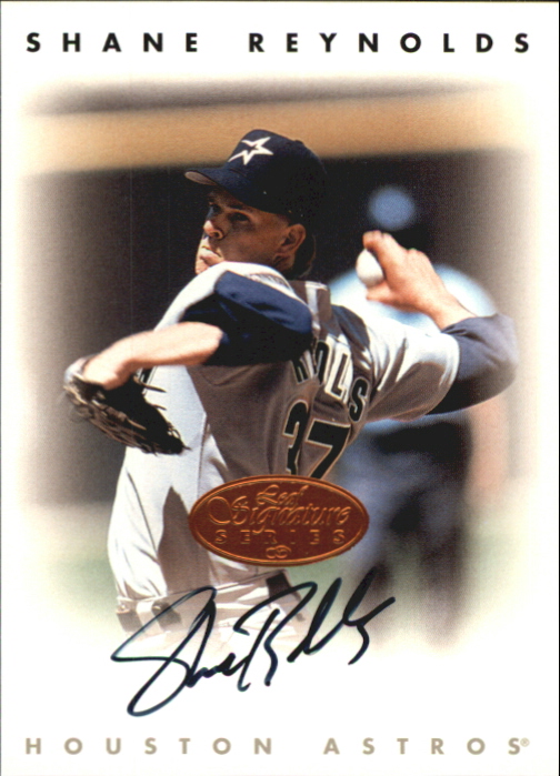 1996 Leaf Signature Autographs #193 Shane Reynolds