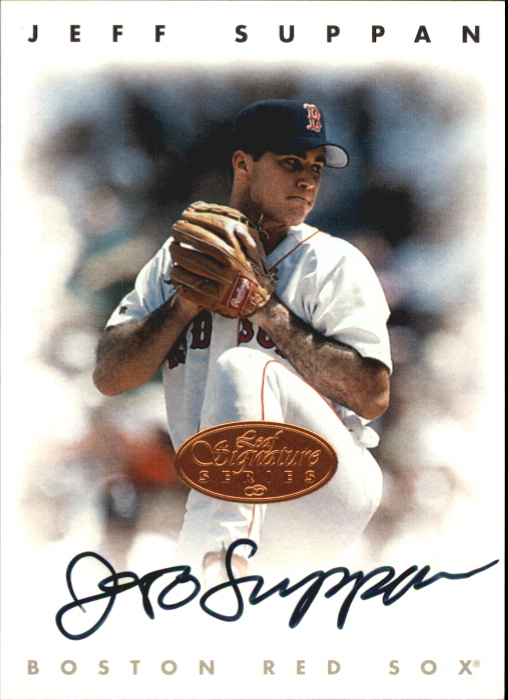1996 Leaf Signature Autographs #217 Jeff Suppan