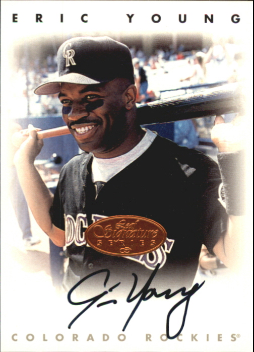 1996 Leaf Signature Autographs #250 Eric Young