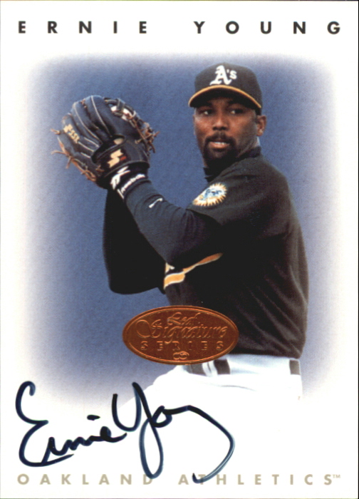 1996 Leaf Signature Autographs #251 Ernie Young