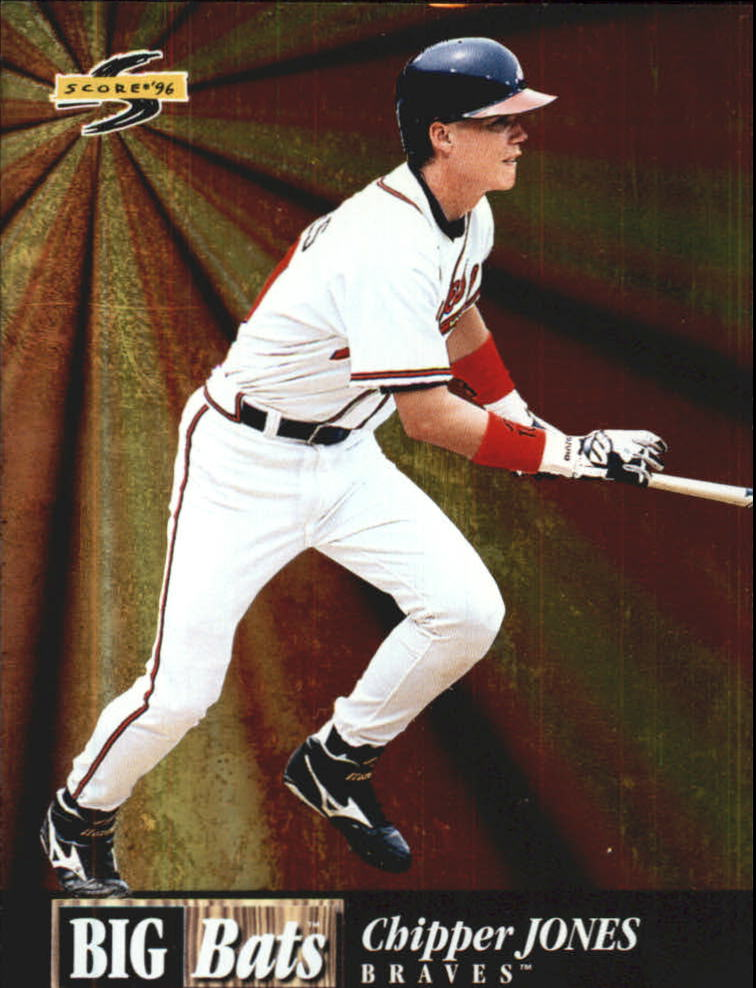 1996 Score Big Bats #20 Chipper Jones