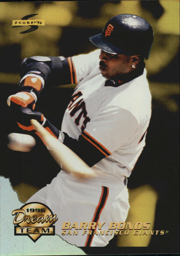1996 Score Dream Team #6 Barry Bonds