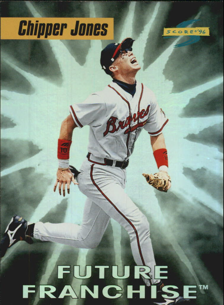 1996 Score Future Franchise #2 Chipper Jones