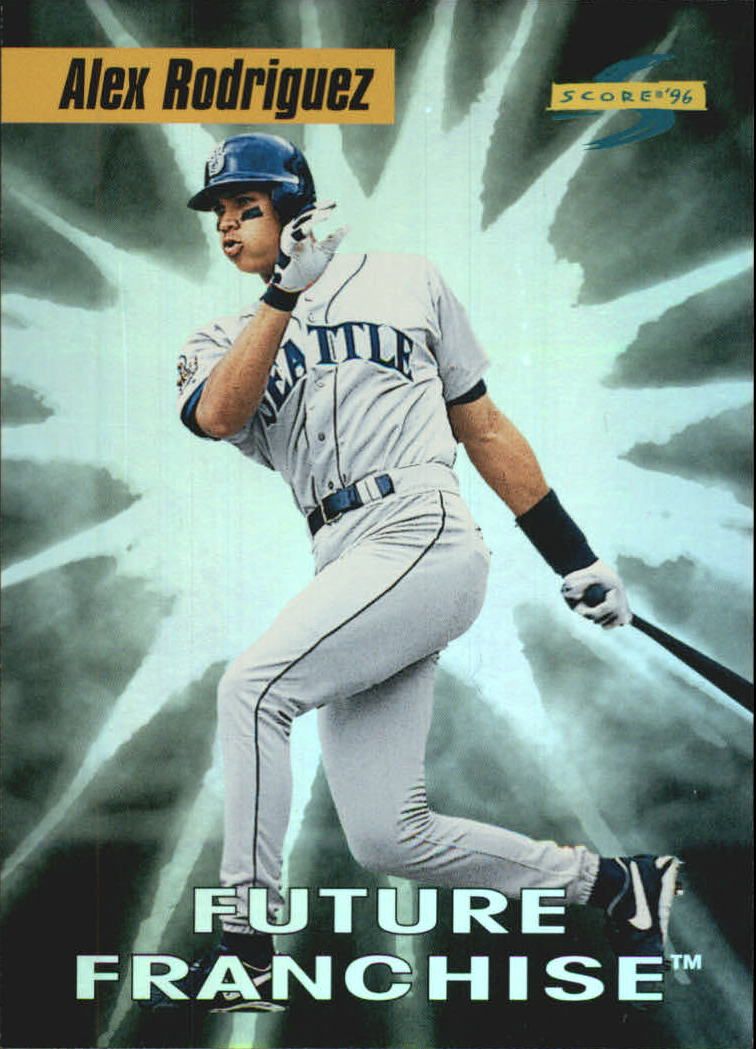 1996 Score Future Franchise #4 Alex Rodriguez