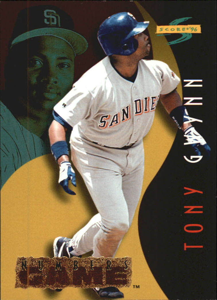 1996 Score Numbers Game #9 Tony Gwynn