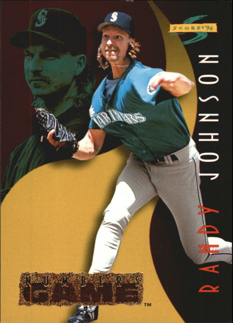 1996 Score Numbers Game #25 Randy Johnson