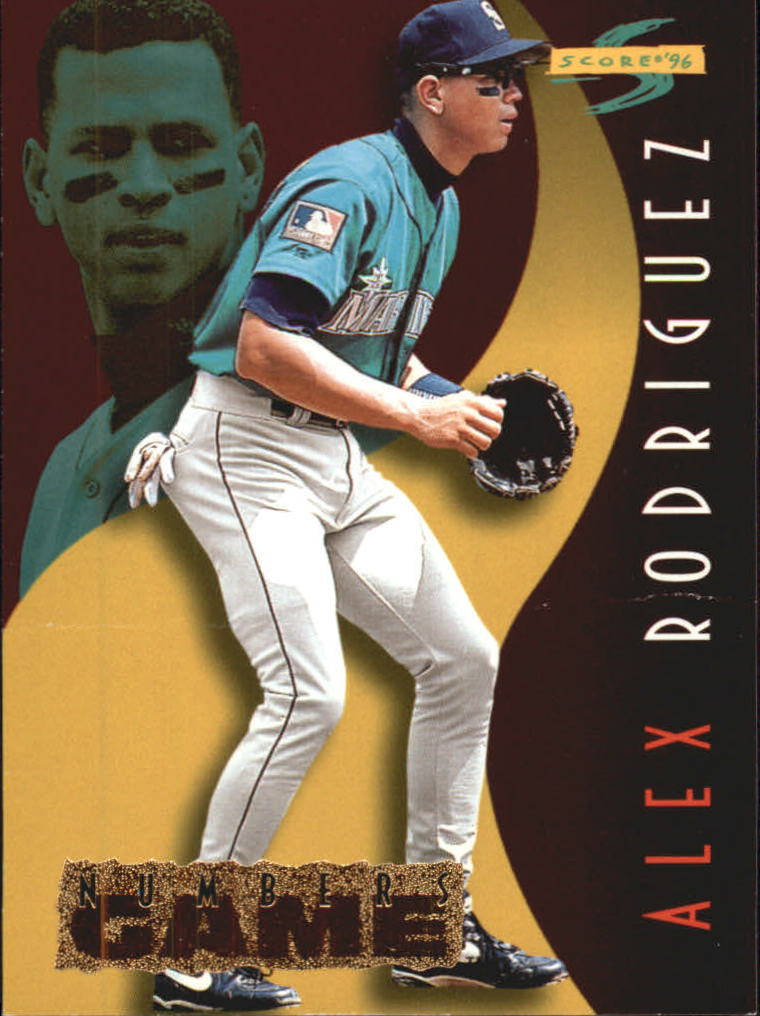 1996 Score Numbers Game #30 Alex Rodriguez