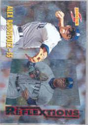 1996 Score Reflextions #2 K.Griffey Jr./A.Rodriguez
