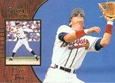 1996 Select #41 Chipper Jones