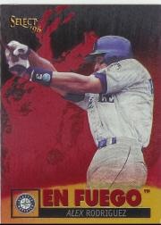 1996 Select En Fuego #21 Alex Rodriguez