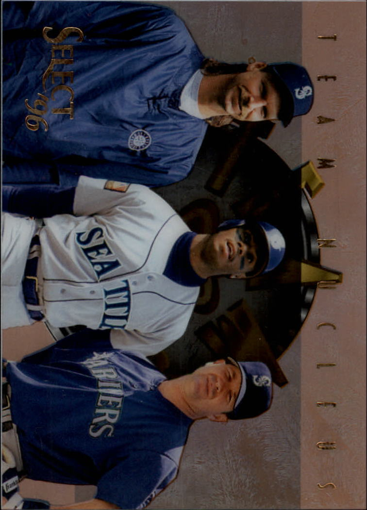 1996 Select Team Nucleus #9 Griffey/Martinez/Johnson