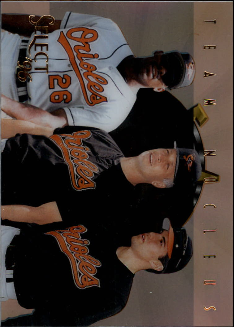 1996 Select Team Nucleus #20 Ripken/Bonilla/Mussina