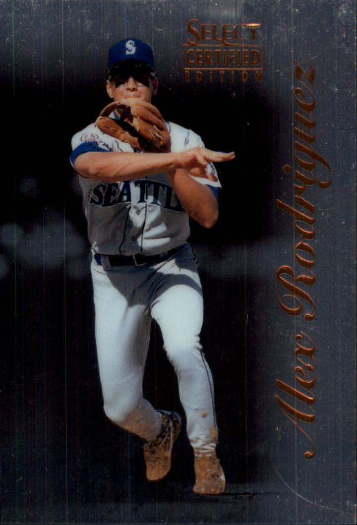 1996 Select Certified #6 Alex Rodriguez