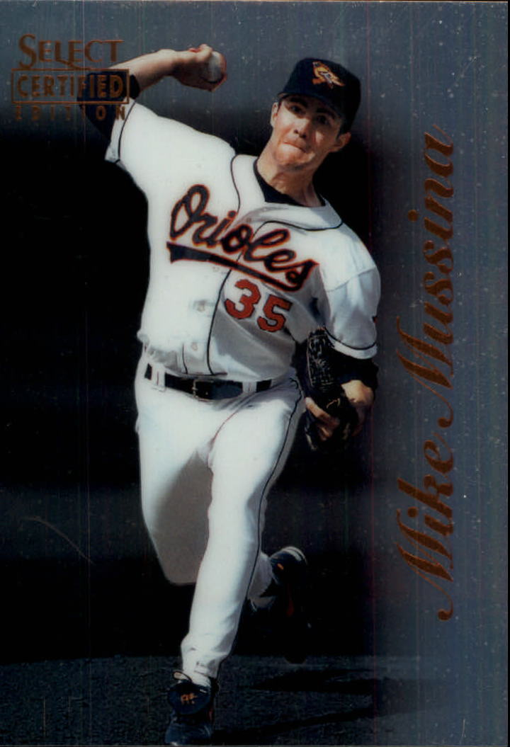 1996 Select Certified #12 Mike Mussina
