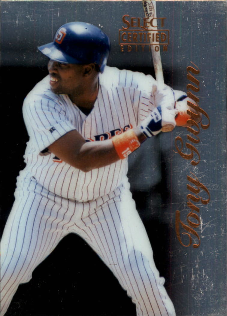 1996 Select Certified #21 Tony Gwynn front image