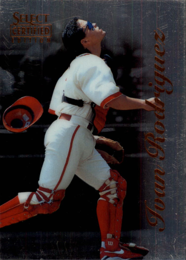1996 Select Certified #35 Ivan Rodriguez