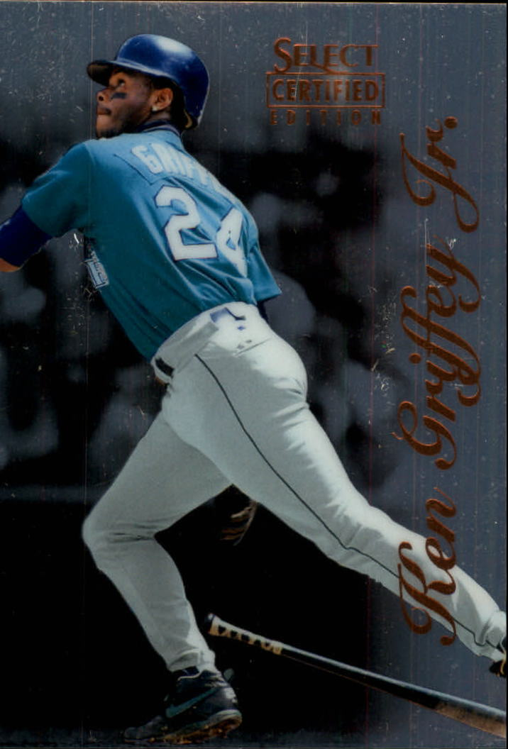 1996 Select Certified #47 Ken Griffey Jr.