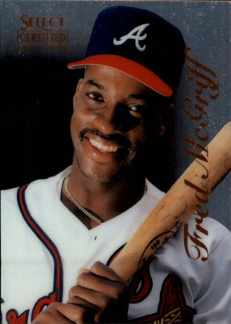 1996 Select Certified #66 Fred McGriff