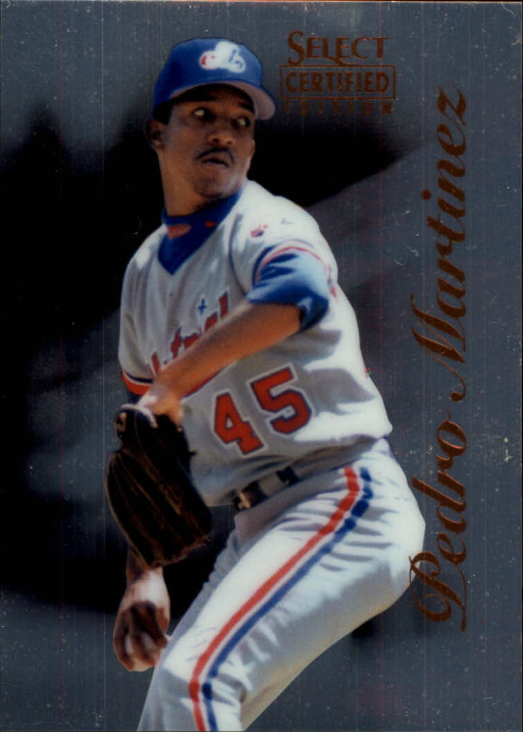 1996 Select Certified #93 Pedro Martinez