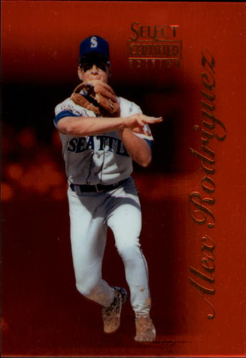 1996 Select Certified Certified Red #6 Alex Rodriguez