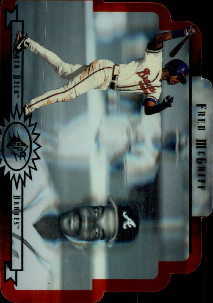 1996 SPx #3 Fred McGriff