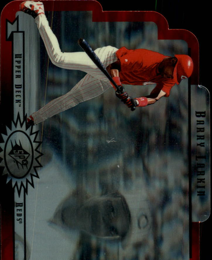1996 SPx #17 Barry Larkin