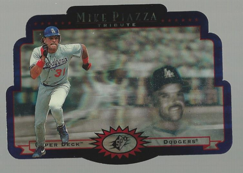 1996 SPx #MP1 Mike Piazza Trib.