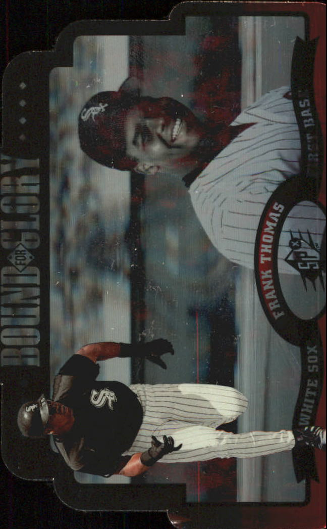 1996 SPx Bound for Glory #2 Frank Thomas