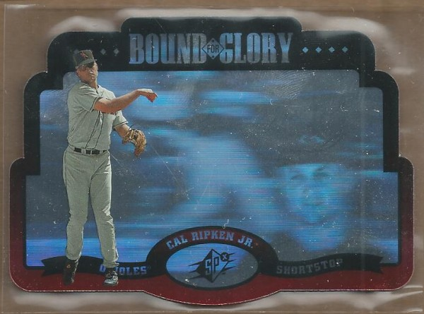 1996 SPx Bound for Glory #4 Cal Ripken