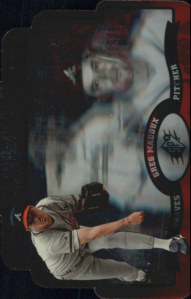 1996 SPx Bound for Glory #5 Greg Maddux