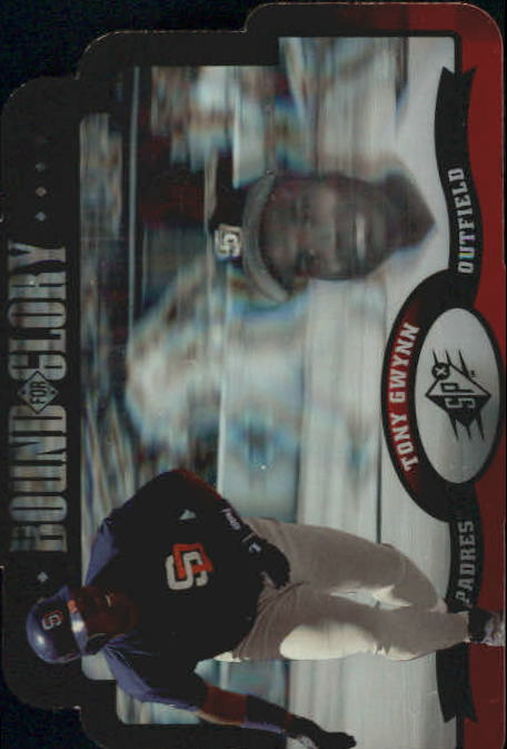 1996 SPx Bound for Glory #9 Tony Gwynn