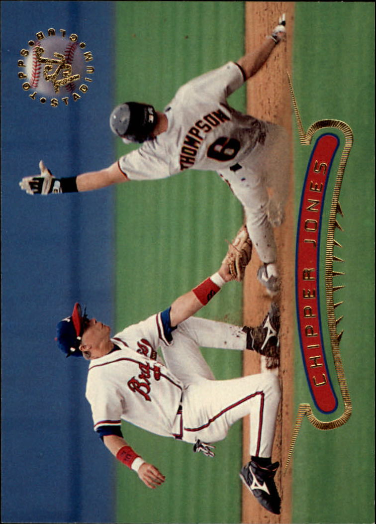 1996 Stadium Club #10 Chipper Jones