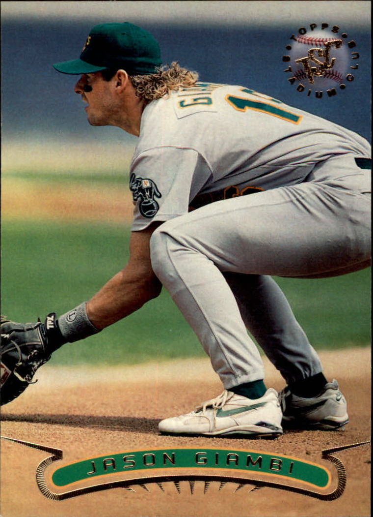 1996 Stadium Club #61 Jason Giambi