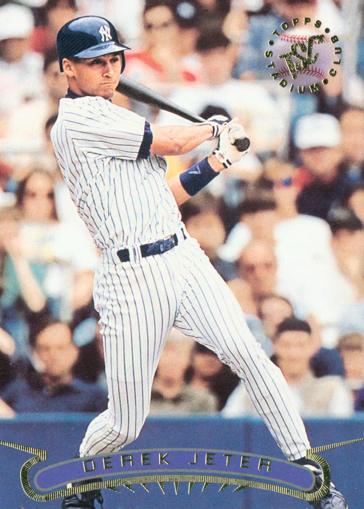 1996 Stadium Club #123 Derek Jeter