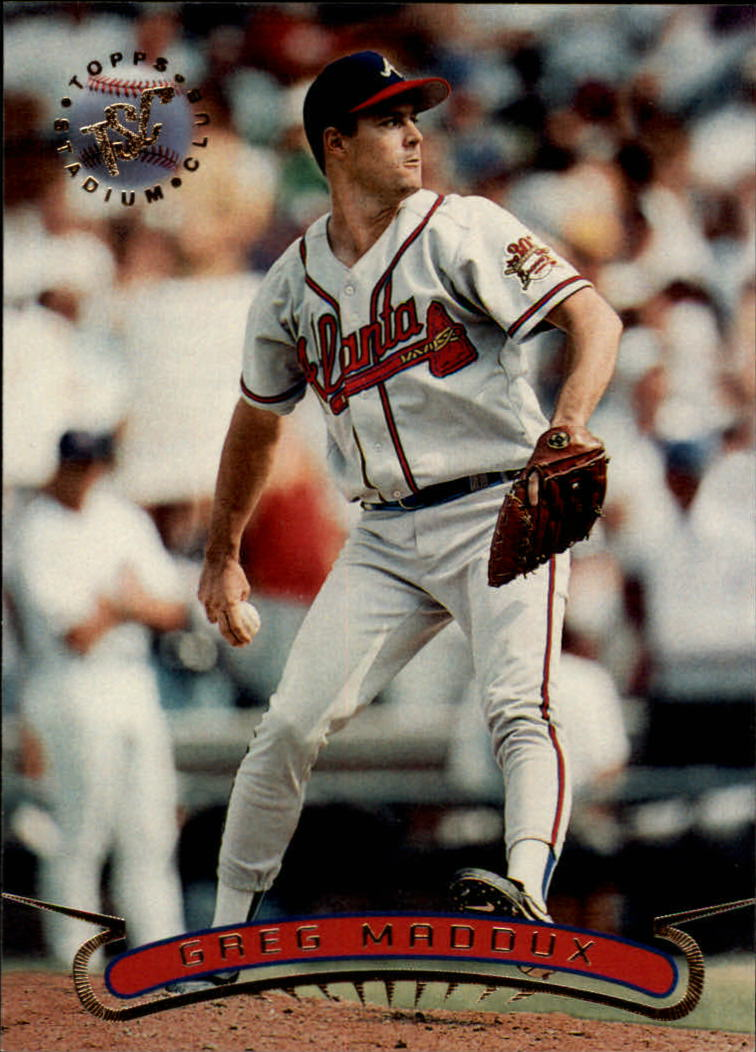 1996 Stadium Club #132 Greg Maddux
