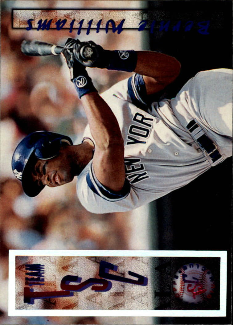 1996 Stadium Club #210 Bernie Williams TSC SP