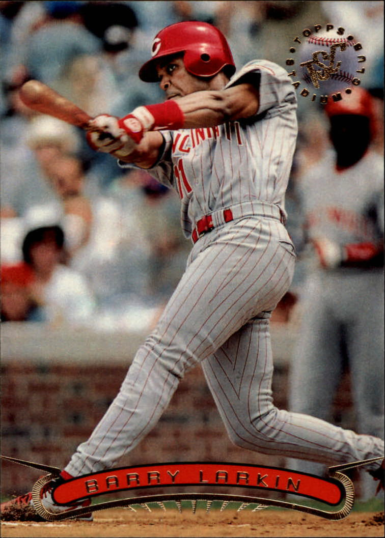 1996 Stadium Club #271 Barry Larkin