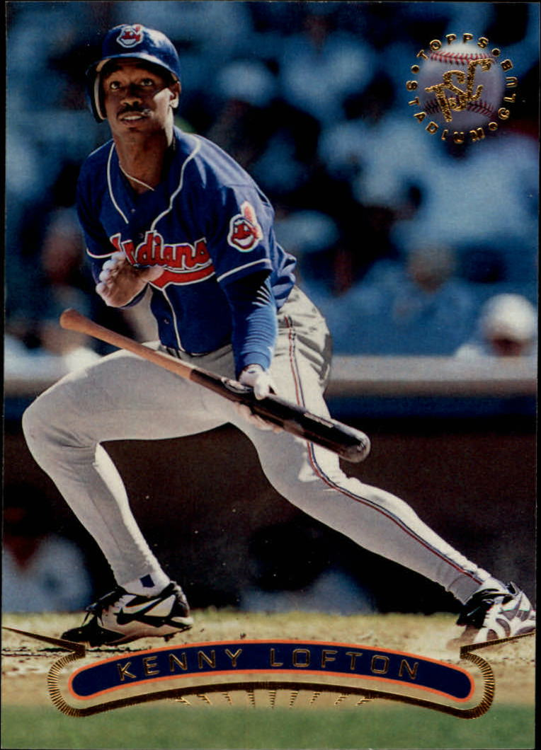 1996 Stadium Club #325 Kenny Lofton