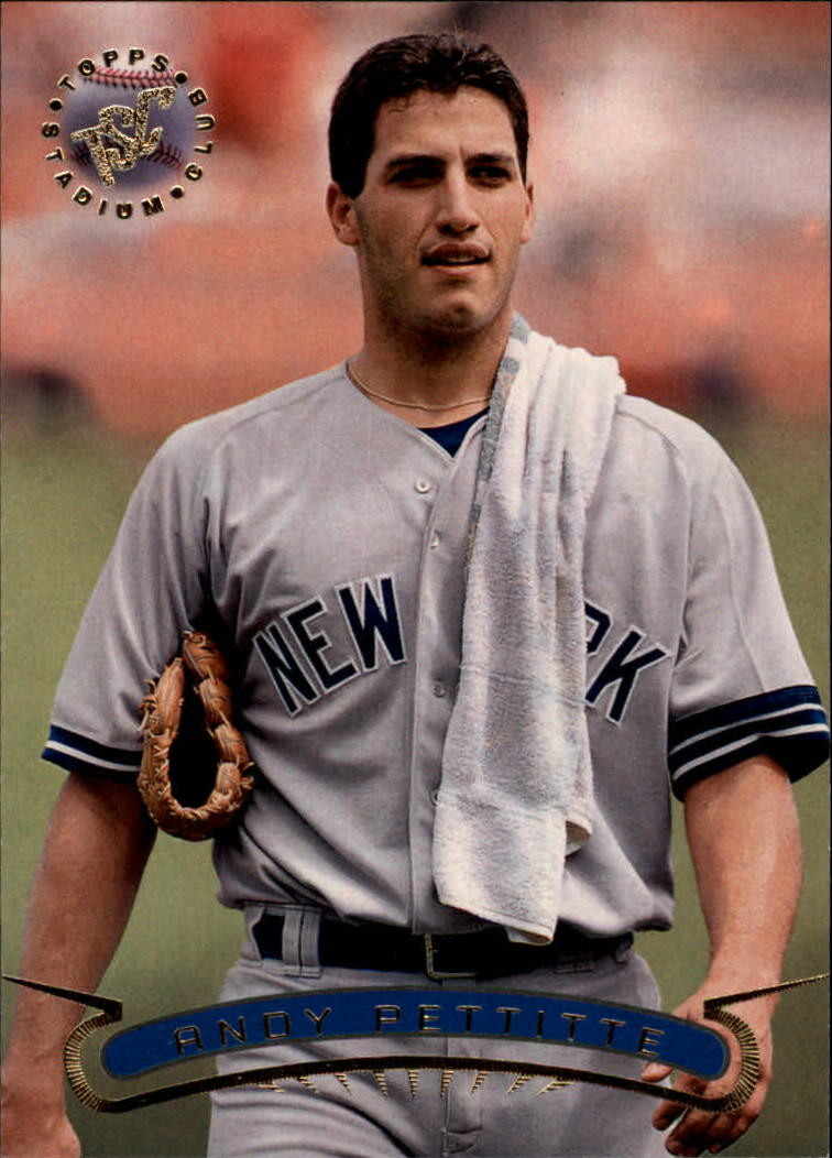 1996 Stadium Club #436 Andy Pettitte