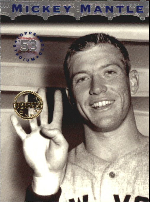 1996 Stadium Club Mantle #MM4 Mickey Mantle