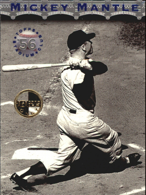1996 Stadium Club Mantle #MM6 Mickey Mantle