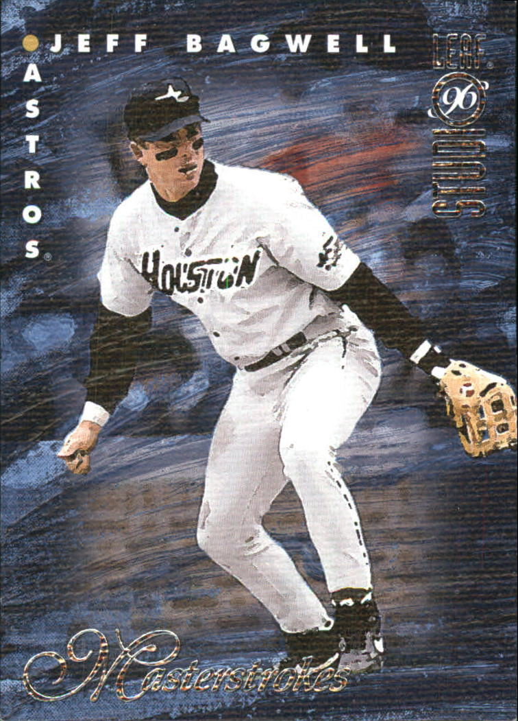 1996 Studio Masterstrokes #3 Jeff Bagwell