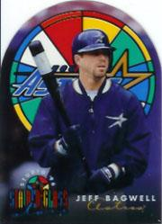 1996 Studio Stained Glass Stars #8 Jeff Bagwell