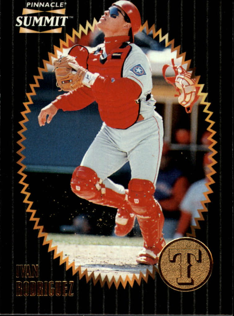 1996 Summit #12 Ivan Rodriguez