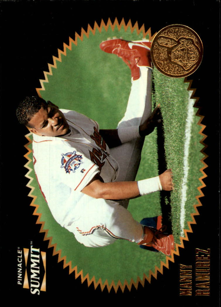 1996 Summit #85 Manny Ramirez