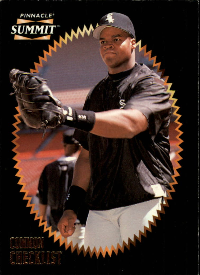 1996 Summit #198 Frank Thomas CL