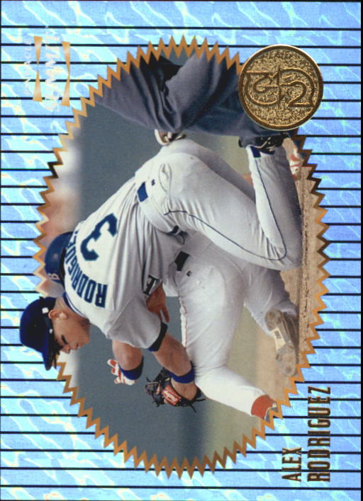 1996 Summit Above and Beyond #84 Alex Rodriguez
