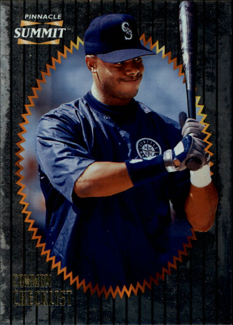 1996 Summit Foil #197 Ken Griffey Jr. CL