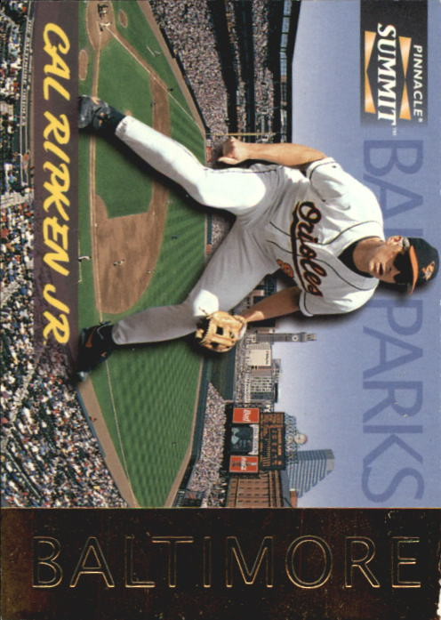 1996 Summit Ballparks #1 Cal Ripken